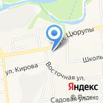 ФАРМЛЕНД на карте Булгаково