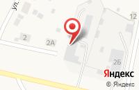 Схема проезда до компании Инстрой в Шилово