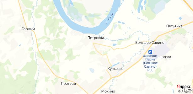 Шилово на карте