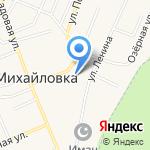 Кумир на карте Михайловки