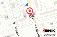 Схема проезда до компании Инвестрайстройзаказчик в Мариинском