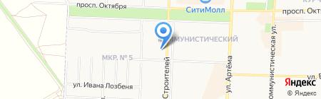 Новостройки на карте Стерлитамака