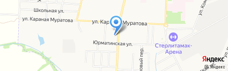 Татьяна на карте Стерлитамака