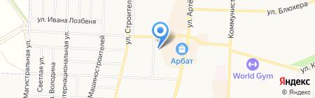Курьер-сервис Стерлитамак на карте Стерлитамака