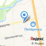 ТРАНСФЕР УФА на карте Булгаково