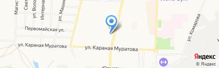 Изольда на карте Стерлитамака