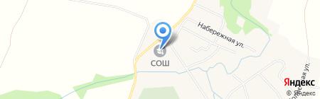 Баш-Култаевская основная общеобразовательная школа на карте Баша-Култаево
