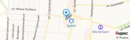 Я на карте Стерлитамака