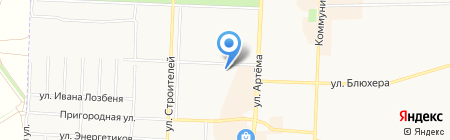 Настена-Сластена на карте Стерлитамака