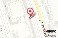 Схема проезда до компании Аскона в Мариинском