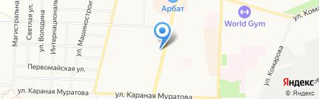 Gps-scan на карте Стерлитамака