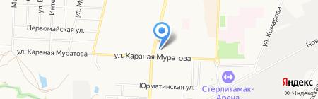Визит на карте Стерлитамака