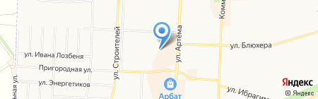 Квартиры посуточно на карте Стерлитамака