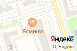 Схема проезда до компании Грация в Мариинском