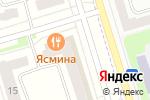 Схема проезда до компании Golden People в Мариинском