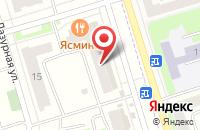 Схема проезда до компании 4 комнаты в Мариинском