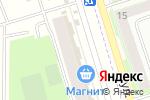 Схема проезда до компании Красное & Белое в Мариинском