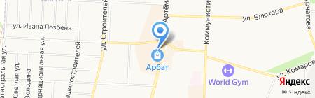 Высший пилотаж на карте Стерлитамака