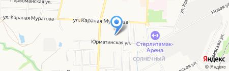 Детский сад №7 на карте Стерлитамака