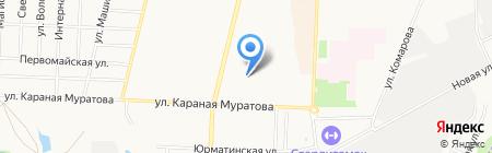 Детский сад №2 на карте Стерлитамака