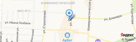 Трикотаж Престиж на карте Стерлитамака