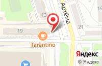 Схема проезда до компании ПАКС-металл в Мариинском