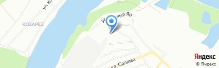 Мастер Колец на карте Уфы