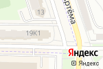 Схема проезда до компании Пятёрочка в Мариинском