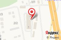Схема проезда до компании Дары Урала в Булгаково