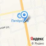 Медковъ на карте Булгаково