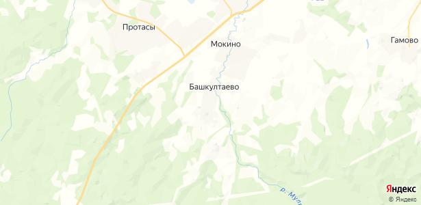 Баш-Култаево на карте