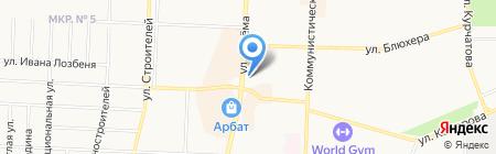 Уральский банк Сбербанка России на карте Стерлитамака