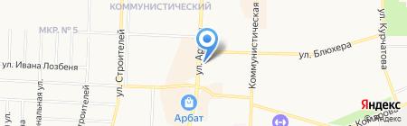 Фарммед на карте Стерлитамака