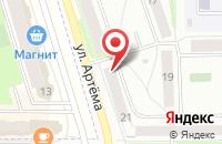 Схема проезда до компании Альянс в Мариинском