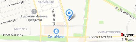 Аптечный склад на карте Стерлитамака