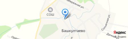 Пермфармация на карте Баша-Култаево