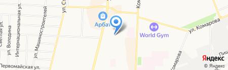 Единая торгово-закупочная компания на карте Стерлитамака