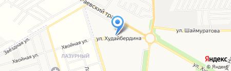 Метрополь на карте Стерлитамака