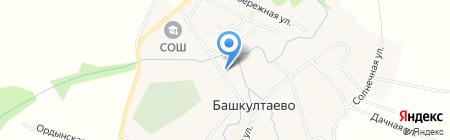 Парикмахерская на карте Баша-Култаево