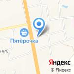 Суши Булгаково на карте Булгаково