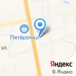 Автодвор на карте Булгаково