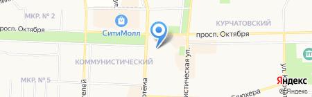 Стоматологический кабинет на карте Стерлитамака