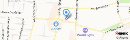 Магазин бытовой химии на карте Стерлитамака