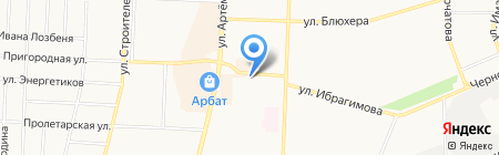Отдел полиции №4 на карте Стерлитамака
