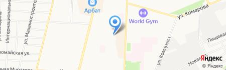 ПСО на карте Стерлитамака