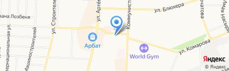 Магазин кондитерских изделий на карте Стерлитамака