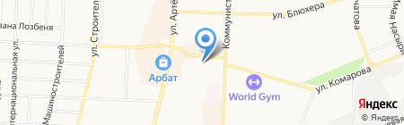 Магнат на карте Стерлитамака