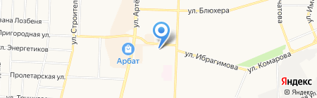 Расходка на карте Стерлитамака