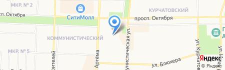 Техсервис на карте Стерлитамака