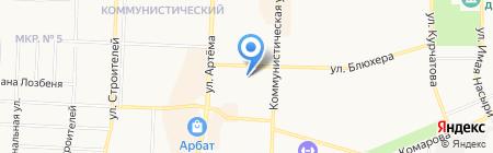 Детский сад №94 Радость на карте Стерлитамака